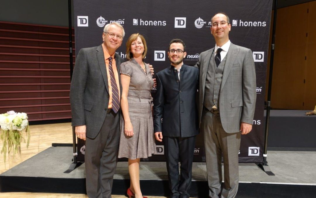 Congratulations to 2015 Honens Laureate Luca Buratto!